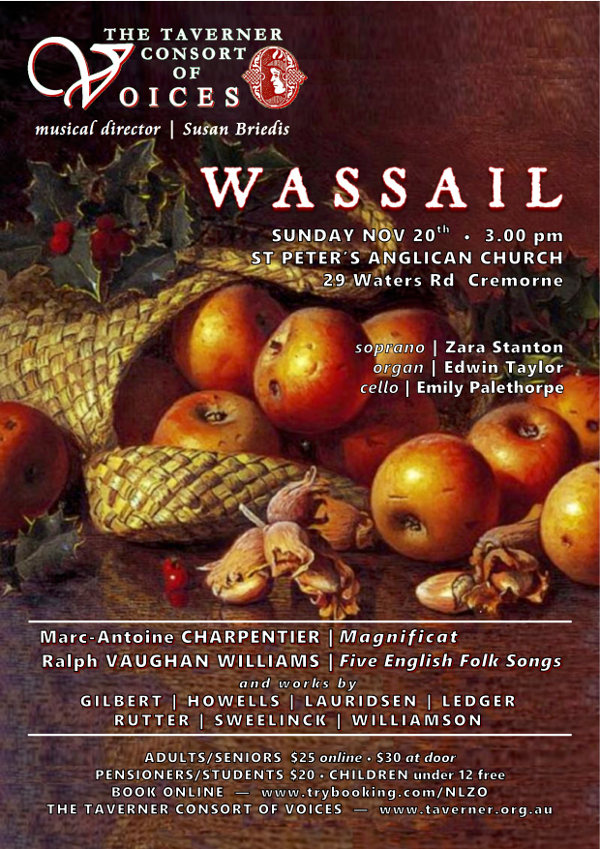 Wassail - Concert 20th November 2016